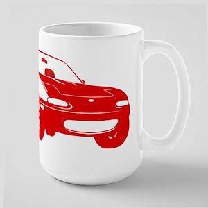 NA Red Large Mug