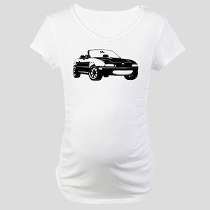 NA Black Maternity T-Shirt