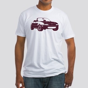 NA Merlot Fitted T-Shirt