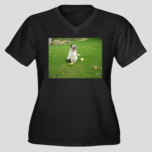 birman sitting Plus Size T-Shirt