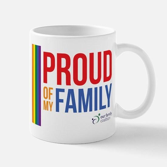 Proud of my Family Mug