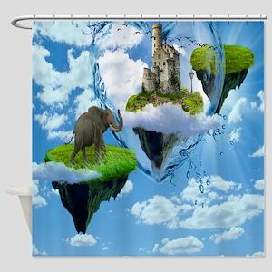 Nature Scene Shower Curtain