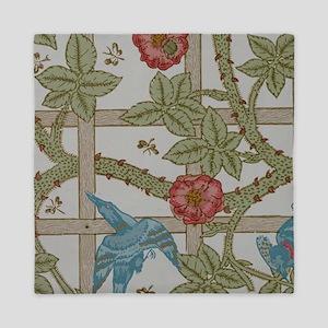 Vintage Floral Rose Wallpaper Pattern Birds morris