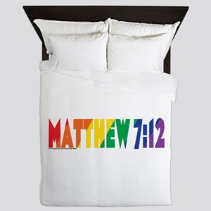 Matthew 7:12 Queen Duvet