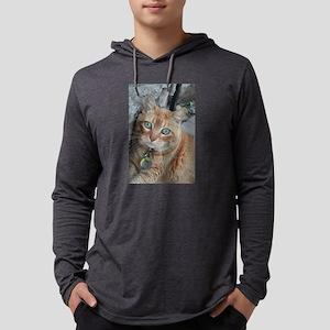 orange kitty Simba Long Sleeve T-Shirt
