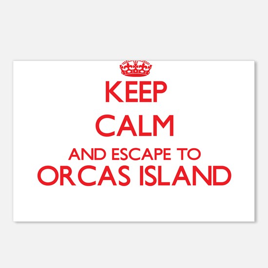Keep calm and escape to O Postcards (Package of 8)