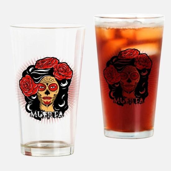 La Muerta Drinking Glass