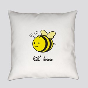 bee_7x7_apparel Everyday Pillow