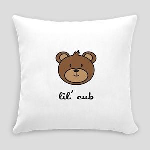 cub_7x7_apparel Everyday Pillow