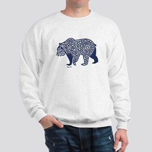 Bear Knotwork Blue Sweatshirt