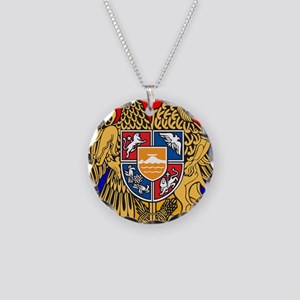 ARMENIA FLAG Necklace Circle Charm