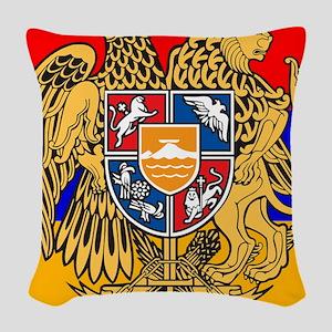 ARMENIA FLAG Woven Throw Pillow
