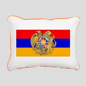ARMENIA FLAG Rectangular Canvas Pillow