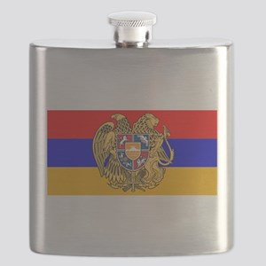 ARMENIA FLAG Flask