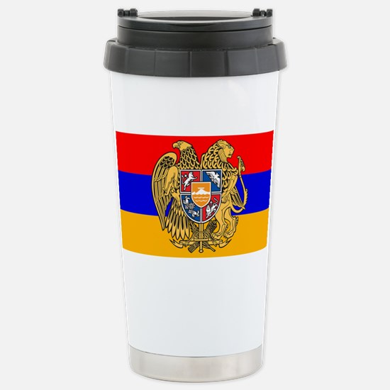 ARMENIA FLAG Stainless Steel Travel Mug