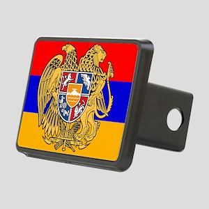 ARMENIA FLAG Rectangular Hitch Cover