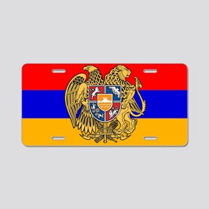 ARMENIA FLAG Aluminum License Plate