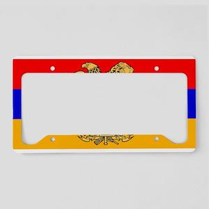 ARMENIA FLAG License Plate Holder