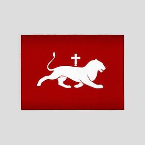 ARMENIA BAGRATUNI FLAG 5'x7'Area Rug