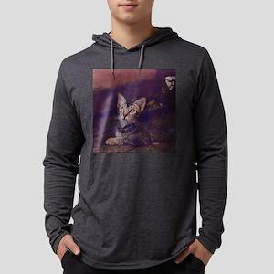 ticked tabby kitten Long Sleeve T-Shirt