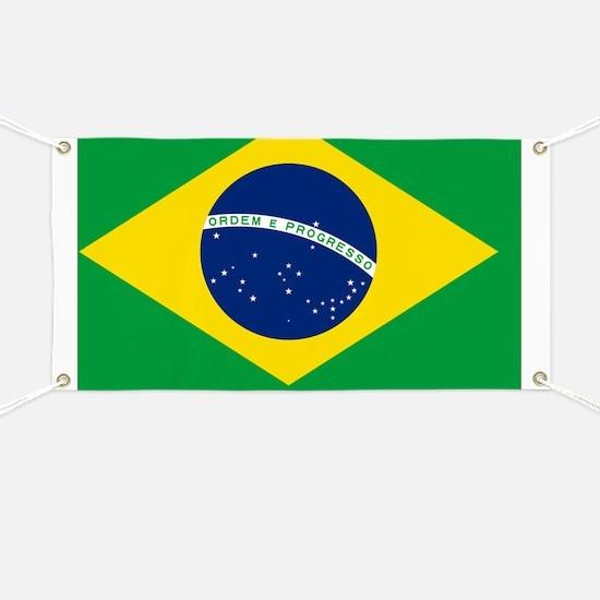 Brazil Flag Banner