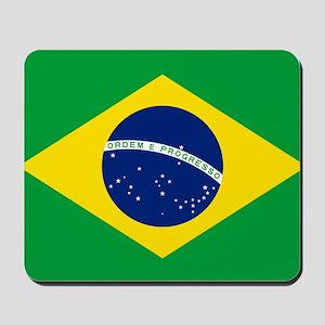 Brazil Flag Mousepad