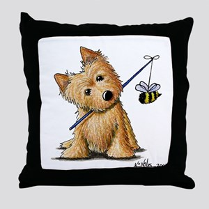 Beekeeper NT Throw Pillow