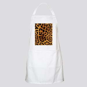 girly trendy leopard print Apron