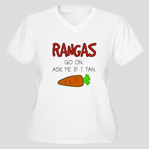 Redhead Jokes Plus Size T-Shirt