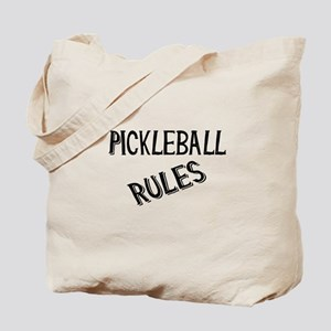 Pickleball Rules Tote Bag