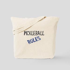 Pickleball Rules Tote Bag
