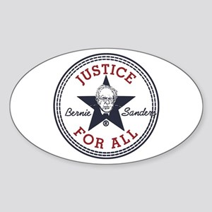 Bernie Sanders Justice for All Sticker