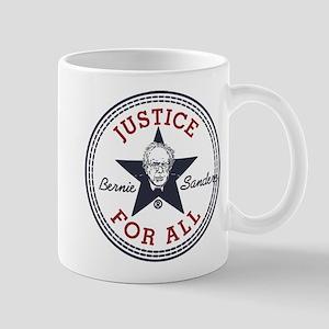 Bernie Sanders Justice for All Mugs