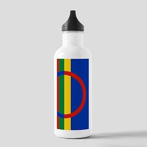 Scandinavia Sami Flag Stainless Water Bottle 1.0L