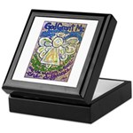 Serenity Prayer Angel Keepsake Box