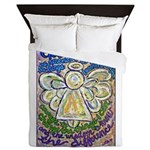 Serenity Prayer Angel Queen Duvet