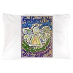 Serenity Prayer Angel Pillow Case