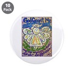 "Serenity Prayer Angel 3.5"" Button (10 Pack)"