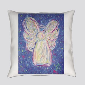 starry night angel2 Everyday Pillow