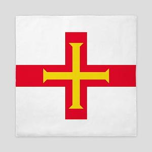 Guernsey flag Queen Duvet