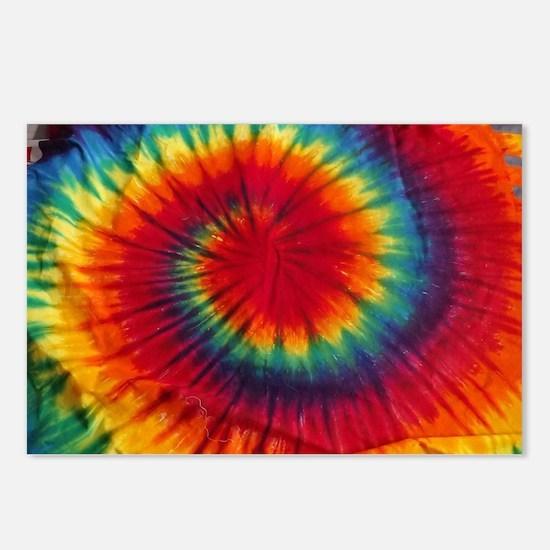 Tie Dye Postcards (Package of 8)