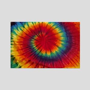 Tie Dye Rectangle Magnet