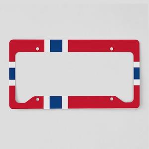 Norden Flag License Plate Holder