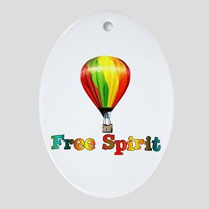 Free Spirit Oval Ornament