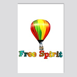 Free Spirit Postcards (Package of 8)