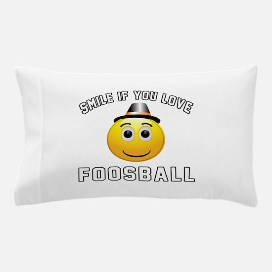 Foosball Cool Designs Pillow Case
