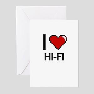 I love Hi-Fi Greeting Cards