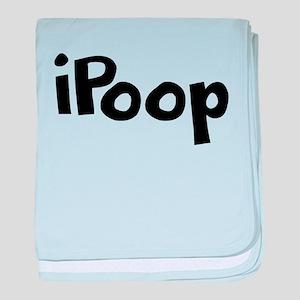 iPoop baby blanket