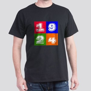 1924 Birthday Designs Dark T-Shirt