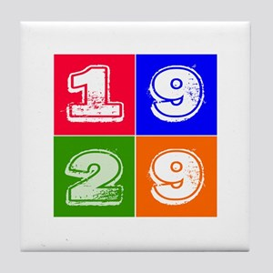 1929 Birthday Designs Tile Coaster